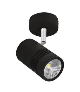 Oprawa ścienno-sufitowa COB LED TOKYO LED 8W BLACK 3209