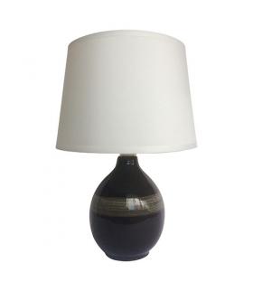 Lampka stołowa ROMA E14 BLACK 3206