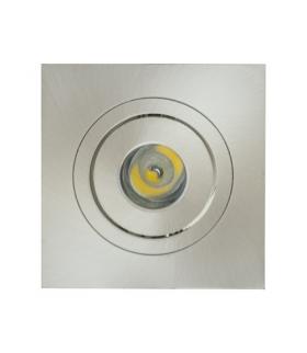 Sufitowa oprawa punktowa POWER LED ELENA-1 HL670L MATCHR 6400K IDEUS 01692