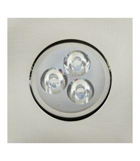 Sufitowa oprawa punktowa POWER LED ELENA-3 HL672L CHR+MATCHR 6400K IDEUS 01696