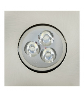 Sufitowa oprawa punktowa POWER LED ELENA-3 HL672L CHR+MATCHR 2700K IDEUS 01695