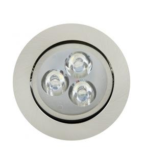Sufitowa oprawa punktowa POWER LED VERA-3 HL673L CHR+MATCHR 2700K IDEUS 01697