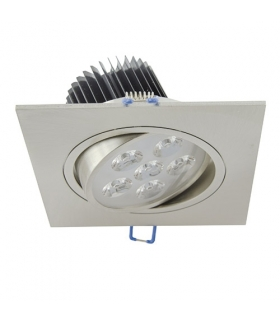 Sufitowa oprawa punktowa POWER LED ELENA-6 HL674L CHR+MATCHR 6400K IDEUS 01700