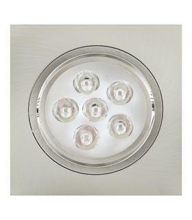 Sufitowa oprawa punktowa POWER LED ELENA-6 HL674L CHR+MATCHR 2700K IDEUS 01699