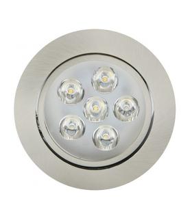 Sufitowa oprawa punktowa POWER LED VERA-6 HL675L CHR+MATCHR 6400K IDEUS 01702