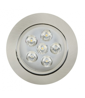 Sufitowa oprawa punktowa POWER LED VERA-6 HL675L CHR+MATCHR 2700K IDEUS 01701
