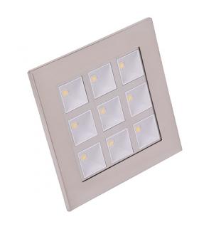 Sufitowa oprawa punktowa POWER LED HL681L MATCHR 6400K IDEUS 01710