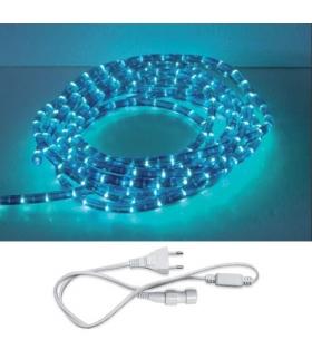 Wąż świetlny z akcesoriami LED ROPELIGHT SET 2 LINE BLUE 10M IDEUS 02221