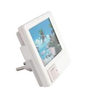 Lampka wtykowa LED SIMPSON HL981L WHITE IDEUS 02554