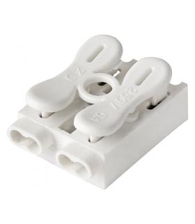 Szybkozłączka instalacyjna SPRING CONNECTOR 2 POLE 2.5MM IDEUS 03057