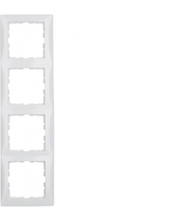 B.Kwadrat Ramka 4-krotna, biały