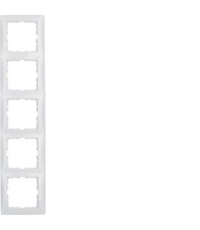 B.Kwadrat Ramka 5-krotna, biały