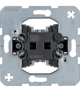 Łącznik 1-klawiszowy 2-biegunowy, mechanizm, samozaciski one.platform