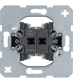Łącznik 2-klawiszowy przyciskowy, 2 zestyki zwierne, samozaciski one.platform