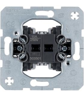 Łącznik 2-klawiszowy przyc., 1 zestyk zwierny, 1 zestyk rozwierny, samozaciski one.platform