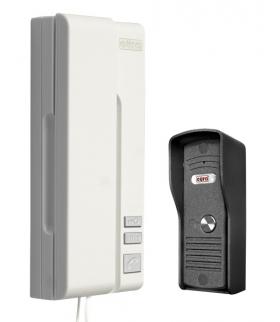 DOMOFON ADP-31A3 ''UNO BIANCO'' 1-rodzinny biały mała kaseta zewnętrzna