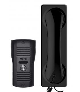 DOMOFON ADP-23A3 ''FLUMINO'' CZARNY - 1 rodzinny, magnetyczny unifon, mała kaseta zewnętrzna
