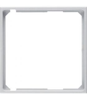 B.Kwadrat/B.7 Pierścień oddzielający do płytki czołowej, alu Berker 11091404