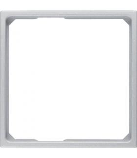 B.Kwadrat/B.7 Pierścień adaptacyjny do płytek czołowych 50x50 mm, alu Berker 11091414