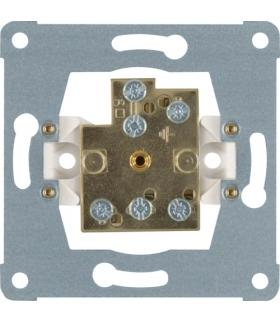 one.platform Mechanizm gniazda wyrównania potencjału podwójne, zaciski śrubowe Berker 1061