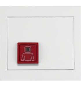 K.1 System przywoławczy Przycisk przywołania z ramką, biały połysk Berker 52067009