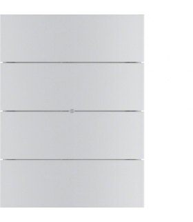 B.IQ Przycisk do wywoływania scen świetlnych 8-kr komfort,  aluminium