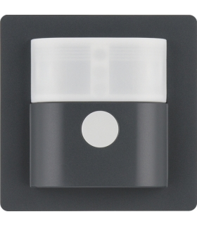 Q.x Nasadka czujnika ruchu 1,1m Berker.Net, antracyt, aksamit lakierowany Berker 85341126