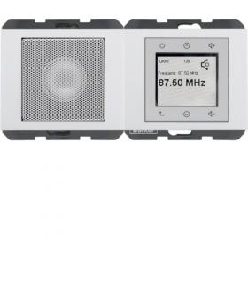 K.1 Radio Touch komplet, biały, połysk Berker 28807009
