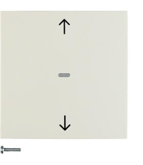 B.Kwadrat/S.1 KNX RF quicklink przycisk żaluzjowy,  krem,  połysk