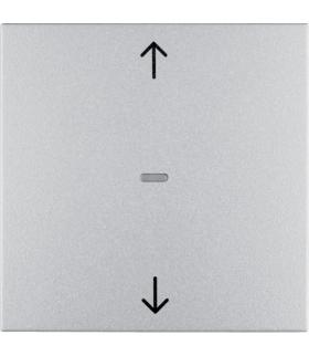 B.Kwadrat/B.7 KNX RF quicklink przycisk żaluzjowy,  alu,  mat