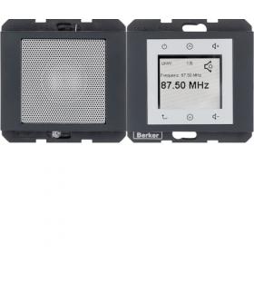 K.1 Radio Touch komplet, antracyt mat Berker 28807006