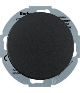 R.classic Rozszerzenie ściemniacza uniwersalnego z płytką czołową, czarny Berker 28352045