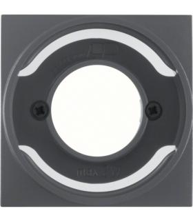 B.x Płytka czołowa do sygnalizatora świetlnego E14, antracyt, mat Berker 11981606