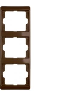 Arsys Ramka 3-krotna pionowa, brązowy Berker 13330001