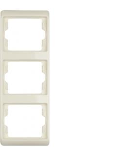Arsys Ramka 3-krotna pionowa, kremowy Berker 13330002