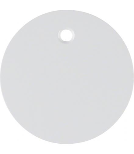 R.1/R.3 Płytka czołowa do łącznika cięgłowego, biały, połysk Berker 11462089