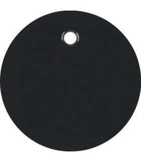 R.1/R.3 Płytka czołowa do łącznika cięgłowego, czarny, połysk Berker 11462045
