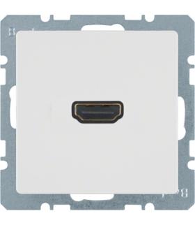 Q.x Gniazdo HDMI, biały, aksamit Berker 3315426089