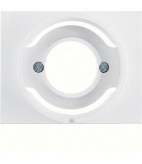 K.1 Płytka czołowa do sygnalizatora świetlnego E14, biały Berker 11677009