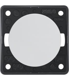 Integro Flow Łącznik klawiszowy przyciskowy, zwierny, biały, połysk Berker 936712509