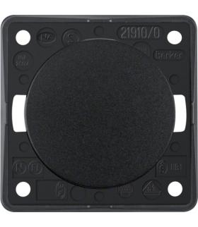 Integro Flow Łącznik klawiszowy przyciskowy, zwierny, czarny, połysk Berker 936712510