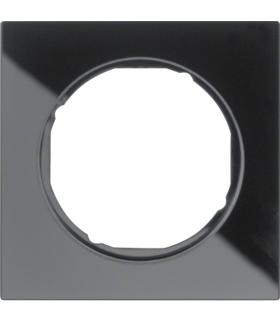 R.3 Ramka 1-krotna, szkło, czarny Berker 10112216