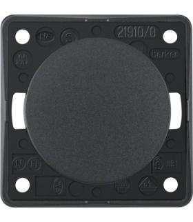 Integro Flow Łącznik klawiszowy przyciskowy, zwierny, antracyt, mat Berker 936712505