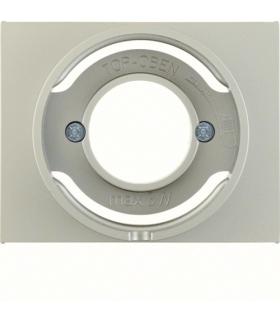 K.5 Płytka czołowa do sygnalizatora świetlnego E14, stal szlachetna, lakierowana Berker 11677004