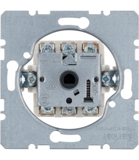 one.platform Łącznik żaluzjowy na klucz 2-biegunowy, mechanizm, zaciski śrubowe Berker 3852