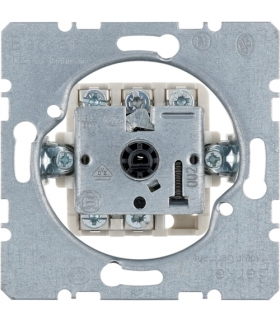 one.platform Łącznik obrotowy 3-pozycyjny z pozycją zerową 0-1-2-3, mechanizm, zaciski śrubowe Berker 3861