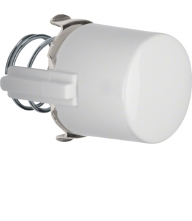 Serie 1930/Glas Przycisk do łącznika i sygnalizatora E10, biały Berker 1225