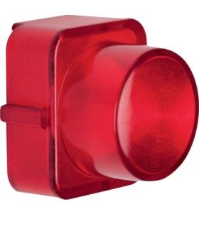 Serie 1930/Glas Klosz do sygnalizatora świetlnego E10, czerwony przezroczysty Berker 1222