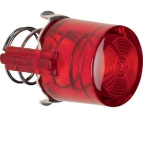 Serie 1930/Glas Przycisk do łącznika i sygnalizatora E10, czerwony przezroczysty Berker 1229