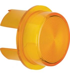 Akcesoria osprzęt Klosz do sygnalizatora świetlnego E10, żółty przezroczysty Berker 1282